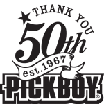 PICKBOY_50th_logo
