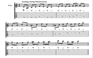 ascending alternate picking pattern1