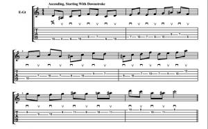 ascending alternate picking pattern1